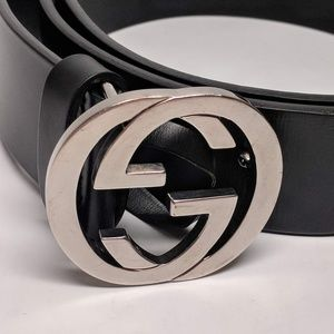 Gucci Accessories - Gucci Black Men's Leather Belt